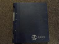 1986 87 1989 Saab 9000 Suspension Wheel Body 4 Door Bodywork Service Manual SET