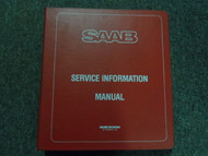 1980s Saab Technical Bulletins Audio Equipment Sony Service Manual OEM FACTORY