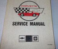 1987 Chevrolet CHEVY CORVETTE Service Repair Shop Manual SET W ELECTRICAL BK NEW