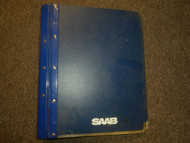 1986 87 88 1989 Saab 9000 News Technical Data Pre Delivery Service Manual OEM 89
