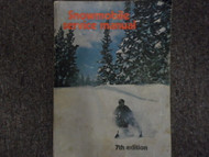 1963-1976 Snowmobile 7th Edition Service Repair Shop manual FACTORY OEM BOOK