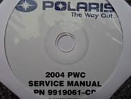 2004 POLARIS PWC Service Repair Shop Manual CD FACTORY OEM 04 PN 9919061 x