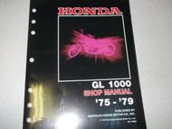 1975 1976 Honda GL1000 GL 1000 GOLDWING GOLD WING Service Repair Shop Manual NEW