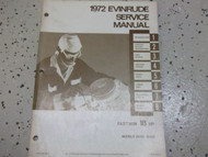 1971 Evinrude Accessories Parts Catalog Preliminary Edition 4761 OEM Boat