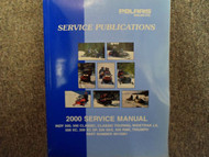 2000 Polaris INDY CLASSIC TOURING XC SKS Service Repair Shop Manual FACTORY x