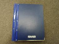 1986 88 Saab 9000 Body Interior Equipment Heating Ventilation Service Manual OEM