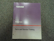 1970s 1980s Saab Engines Parts and Service Training Shop Manual FACTORY OEM DEAL