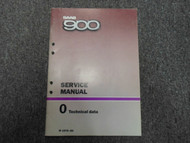 1979 1980 Saab 900 0 Technical Data Service Repair Shop Manual FACTORY OEM 79 80