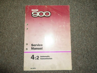 1979 Saab 900 4:2 Automatic Transmission Service Repair Shop Manual FACTORY 79