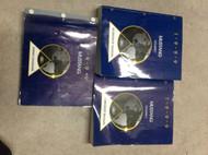 1999 FORD MUSTANG Service Shop Repair Manual Set W WIRING DIAGRAM MANUAL EWD