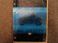 1999 Harley Davidson XLH Models Parts Catalog Manual FACTORY OEM BOOK USED 99 x