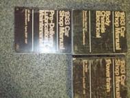 1983 Lincoln Mark VI Service Shop Repair Manual SET OEM 3 VOLUME SET HUGE