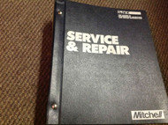 1995 DODGE CHRYSLER MOPAR Plymouth Mitchell's Mitchell Service Shop Manual