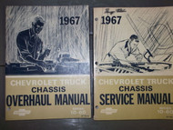 1967 Chevy Chevrolet Truck 10-60 Series 10 60 Service Shop Repair Manual Set