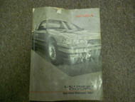 1987 Acura Legend Coupe Service Repair Shop Manual FACTORY OEM BOOK WORN