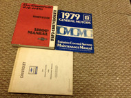 1979 Chevrolet CHEVY CORVETTE Service Repair Shop Manual Set W EMISSIONS + POLIC