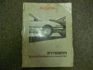 1987 Acura Integra Electrcial Troubleshooting Manual FACTORY BOOK 87 DAMAGED
