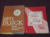 1971 Buick CENTURION ELECTRA GS SKYLARK LESABRE RIVIERA Service Repair Manual 71