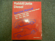 1977 1984 VW Rabbit Jetta Diesel Service Repair Shop Manual FACTORY BOOK 77 84 x