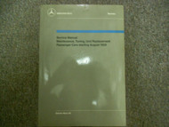 1959 1965 MERCEDES Maintenance Unit Replacement Passenger Cars Service Manual x