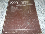 1990 Ford F-150 250 350 Econoline Bronco ENGINE Truck Service Repair Manual x