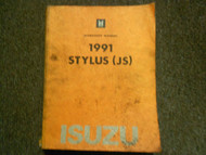 1991 ISUZU STYLUS Service Repair Shop Manual FACTORY OEM BOOK 91 x