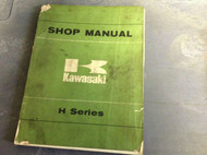 1969 1970 1971 1972 73 1974 Kawasaki H SERIES H1 H2 Service Repair Shop Manual x