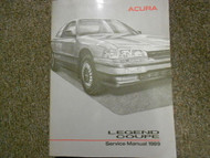 1989 Acura Legend Coupe Service Repair Shop Manual FACTORY OEM BOOK 89 x