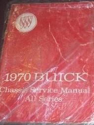 1970 Buick SKYLARK GS RIVIERA GSX LESABRE ELECTRA Service Repair Shop Manual X
