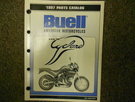 1997 Buell Cyclone Parts Catalog Manual FACTORY OEM BOOK 97 x