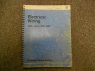 1985 VW Golf GTI Jetta Electrical Wiring Service Shop Manual FACTORY BOOK 91