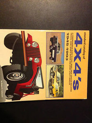 1945 1950 1993 Standard Catalog of 4X4'S Trucks Vans Sports Sedan Manual