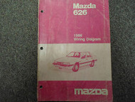 1986 Mazda 626 Electrical Wiring Diagram Service Repair Shop Manual Factory x