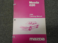 1986 Mazda 626 Service Repair Shop Training Manual Factory OEM Book 86 x