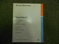 1993 1996 VW GOLF GTI JETTA 2.0L General Engine First Edition Service Manual OEM