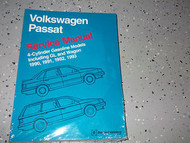 1990 1991 1992 1993 VW Volkswagen GL WAGON Passat Service Shop Repair Manual x