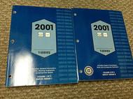 2001 CHEVY GMC TRUCK TRUCKS T SERIES T-SERIES Service Shop Repair Manual Set