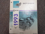1993 Ski Doo Snowmobile Service Repair Shop Manual Factory OEM Book 93 x
