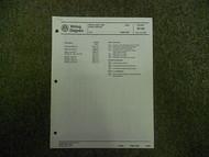 1986 1987 VW Jetta Stereo Radio Power Antenna Wiring Diagram Service Manual OEM