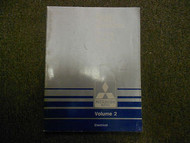 1989 MITSUBISHI Van Wagon Service Repair Shop Manual Volume 2 Electrical OEM x