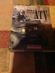 2004 POLARIS SUZUKI HONDA KAWASAKI Parts & Accessories Manual Catalog READ DESC