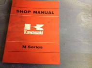 1972 1973 1974 1975 1976 Kawasaki M M SERIES Service Repair Shop Manual OEM BOOK