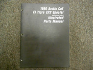 1990 Arctic Cat El Tigre EXT Special Illustrated Parts Service Shop Manual OEM x