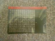 1997 MERCEDES Model 107 124 126 129 Service Diagnostic Directory 2 Microfiche