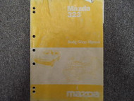 1985 Mazda 323 Bodyshop Service Repair Shop Manual FACTORY OEM BOOK 85 DAMAGED