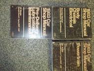 1983 LINCOLN TOWN CAR Service Shop Repair Manual SET x DEALERSHIP FACTORY OEM