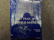 2005 Polaris TRAIL SPORT SUPERSPORT 500 INDY Service Shop Repair Manual OEM NEW