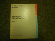1991 VW In Dealership Training Service Repair Shop Manual Workbook WD OEM 91