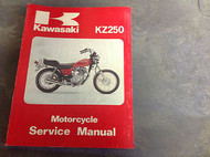 1980 KAWASAKI KZ250 KZ 250 MOTORCYCLE Service Repair Shop Manual C1 D1 G1 OEM