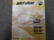 2009 Ski Doo REV XP REV XR 2 Stroke Service Repair Shop Manual FACTORY OEM 09 x